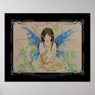 Impresión de las creaciones del reino de la fantas póster