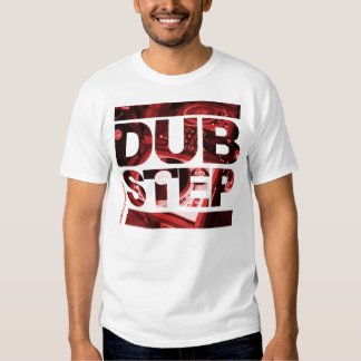 Impresión de las cubiertas de Dubstep Camiseta