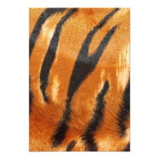 Impresión de las rayas del tigre del safari invitaciones personales