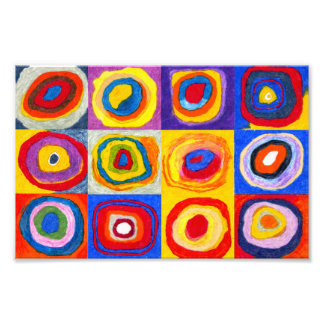Impresión de los círculos de Kandisnky Fotos