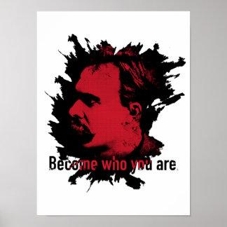 Impresión de Nietzsche - hecha quién usted es