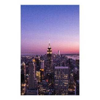 Impresión de NYC (1 de 1) Papelería Personalizada