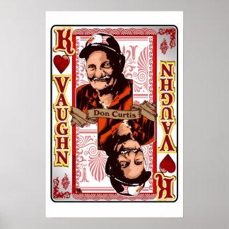Impresión de tarjeta de Don Curtis de la reunión