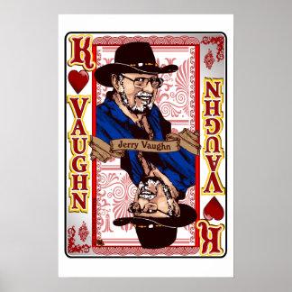 Impresión de tarjeta de Jerry Vaughn de la reunión