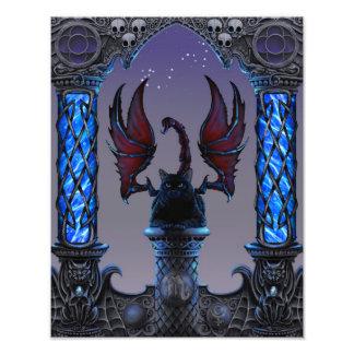 Impresión de Zodicatabat 11x14 del escorpión Foto