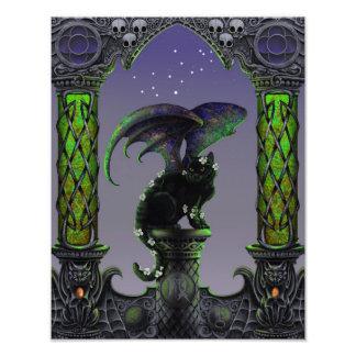 Impresión de Zodicatabat 11x14 del virgo Foto