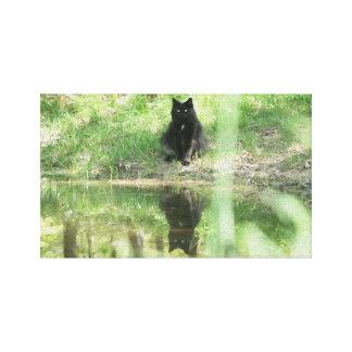 Impresión del aceite de la lona de las reflexiones