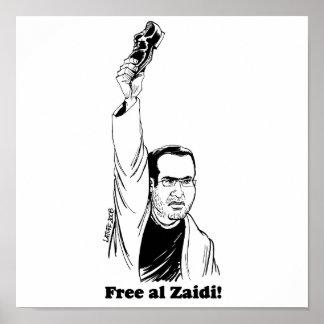 impresión del al-Zaidi - Latuff Impresiones