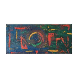 """Impresión del arte abstracto de la """"distorsión"""""""