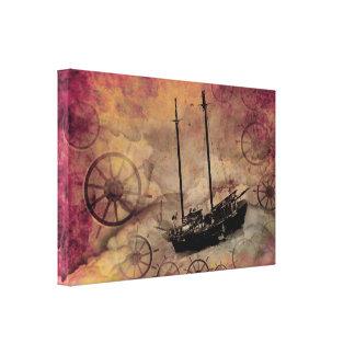 Impresión del arte de la pared de Steampunk de la