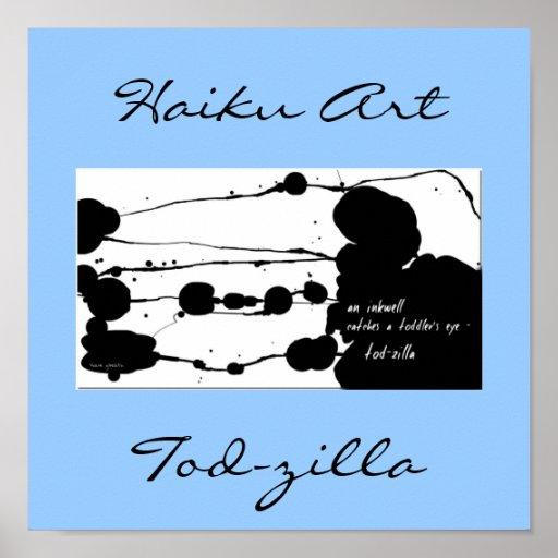 Impresión del arte del Haiku de Tod-zilla Impresiones