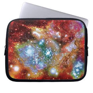 Impresión del artista del cúmulo de estrellas de funda para portátil