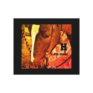 Impresión del caballo
