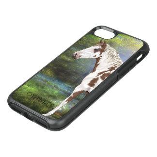 Impresión del caballo de la pintura de Tovero del Funda OtterBox Symmetry Para iPhone 8/7