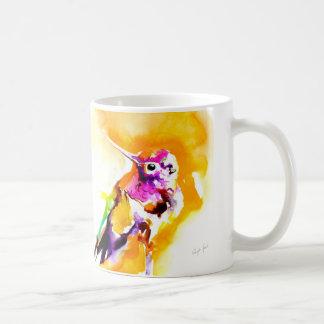 """Impresión del colibrí del """"Gorget magnífico"""" Taza De Café"""