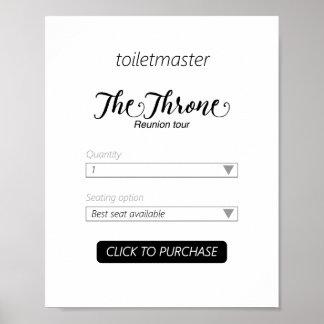 Impresión del cuarto de baño de Toiletmaster