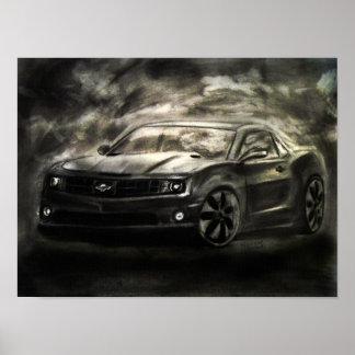 Impresión del dibujo de Chevrolet Camaro