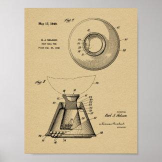 Impresión del dibujo del arte de la patente de la