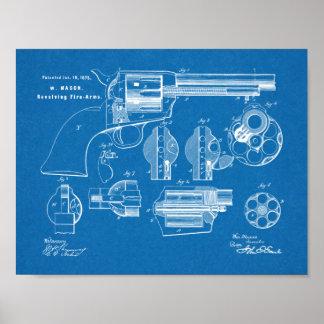 Impresión del dibujo del arte de la patente del