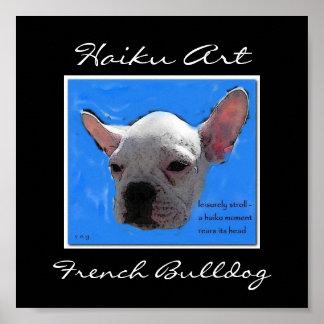 Impresión del dogo francés posters
