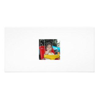 Impresión del Fb mi foto Tarjeta Fotográfica Personalizada