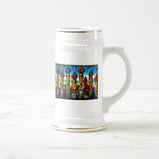 Impresión del graduado de la tecnología de la univ taza de café