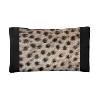 Impresión del guepardo estuche de maquillaje