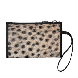 Impresión del guepardo monedero