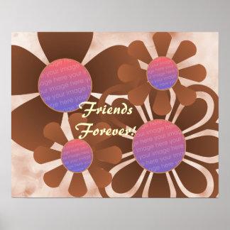Impresión del marco de la foto de las flores del m impresiones