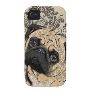 Impresión del modelo del mascota del extracto del Case-Mate iPhone 4 fundas
