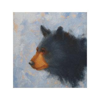 Impresión del oso negro