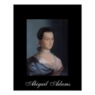 Impresión del poster de Abigail Adams