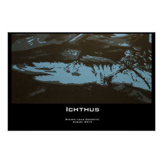 """Impresión del poster de """"Ichthus"""""""