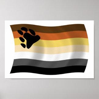 Impresión del poster de la bandera de la fraternid