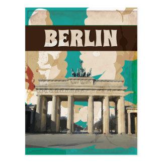 Impresión del poster del viaje de Berlín del Postal