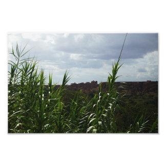 Impresión del satén de Vista del marroquí Impresion Fotografica