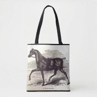 Impresión del siglo XIX un caballo inglés del Bolso De Tela