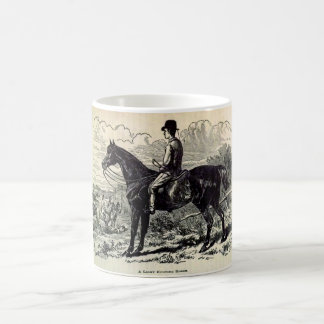 Impresión del siglo XIX un caballo ligero de la Taza De Café