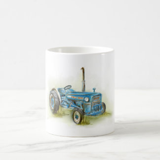 Impresión del tractor en la taza