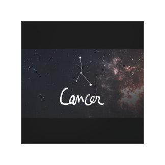 impresión del zodiaco del cáncer