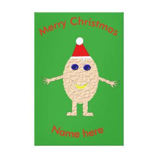 Impresión divertida de EggCustom del navidad