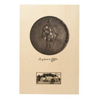 Impresión En Madera 1642 - El primer de la raza que estableció América