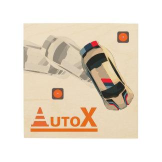 Impresión En Madera AuTOX-Blanco