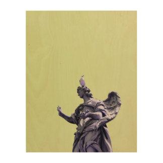 Impresión En Madera Coloree el efecto, fotografía simple filtrada,