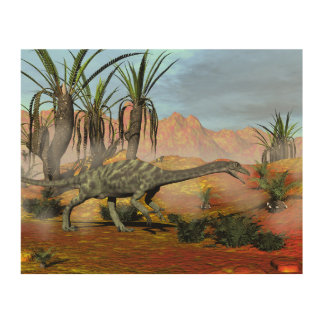 Impresión En Madera Dinosaurios del Anchisaurus - 3D rinden