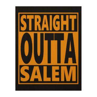 Impresión En Madera Fanático recto de Outta Salem Halloween