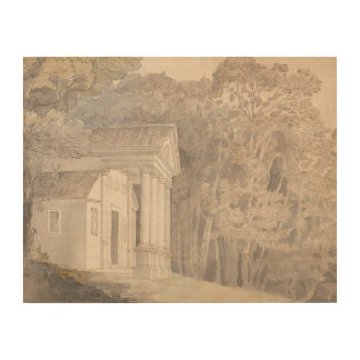 Impresión En Madera Francisco Towne - parque de Werrington, Devonshire