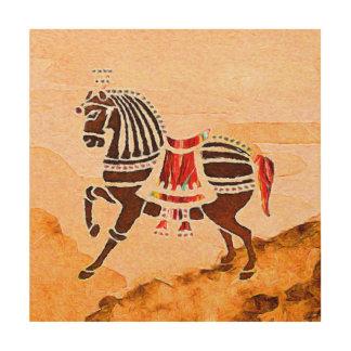 Impresión En Madera Las almas del caballo   de la velocidad   el  