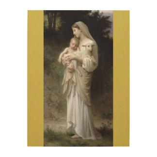 Impresión En Madera L'Innocence William-Adolphe Bouguereau 1893
