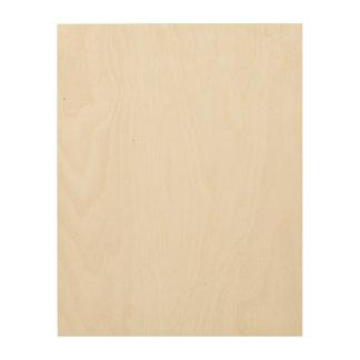 Impresiones en madera